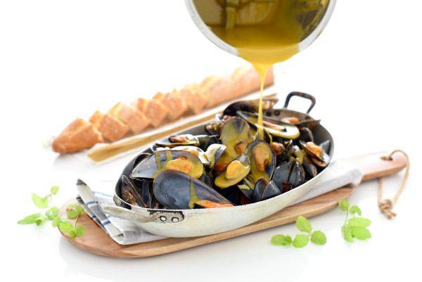 Mejillones en salsa picante | Velocidad Cuchara