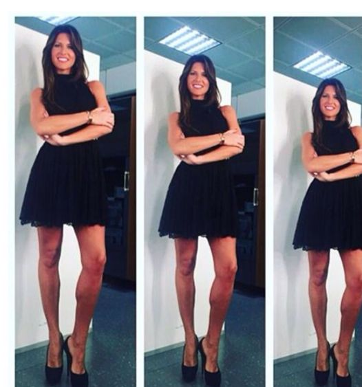 "Barbara Pedrotti wearing Mangano dress ""Thirtyfive"" available on our shop online"
