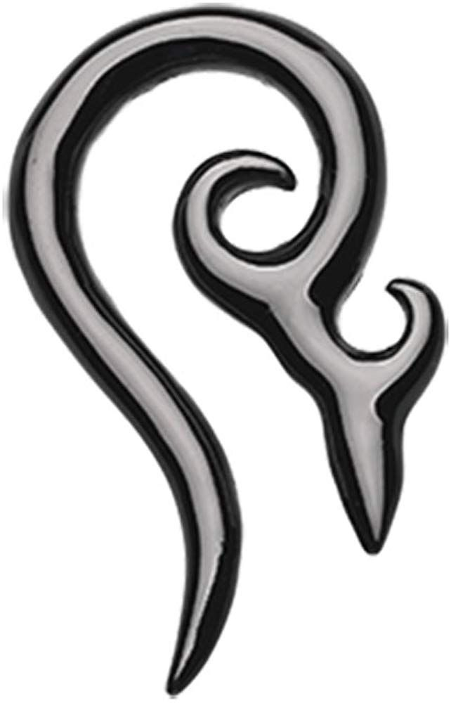 Covet Jewelry Tribal 316L Surgical Steel Taper