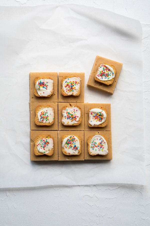 Fairy bread fudge. For the recipe visit www.dollarsweets.com/recipes