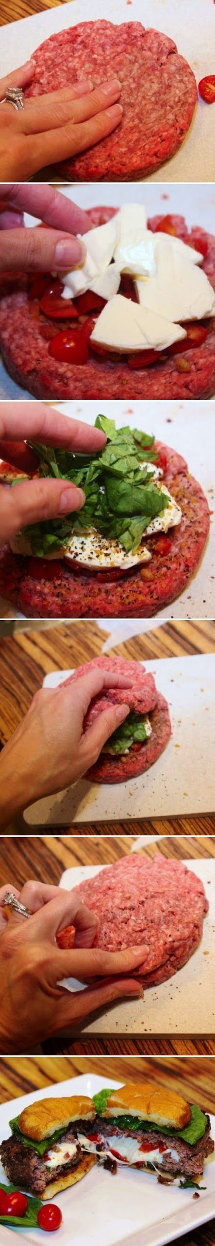 Caprese Burger Recipe