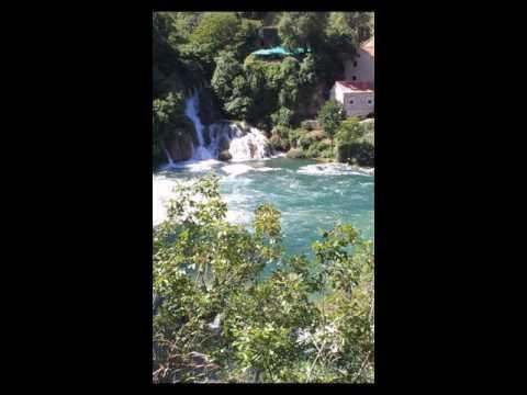 Vodopády Krka-Krka waterfalls