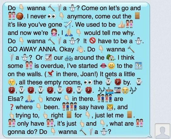 bcacc021344faa720b97384df71b7e5f frozen snowman frozen songs the 25 best emoji texts ideas on pinterest funny emoji texts