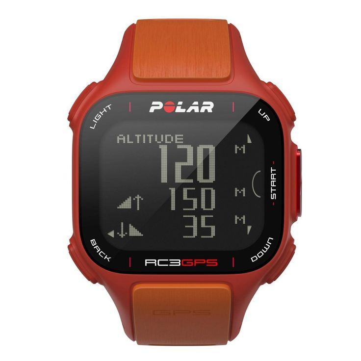 Polar RC3 GPS Sports Watch Red-Orange