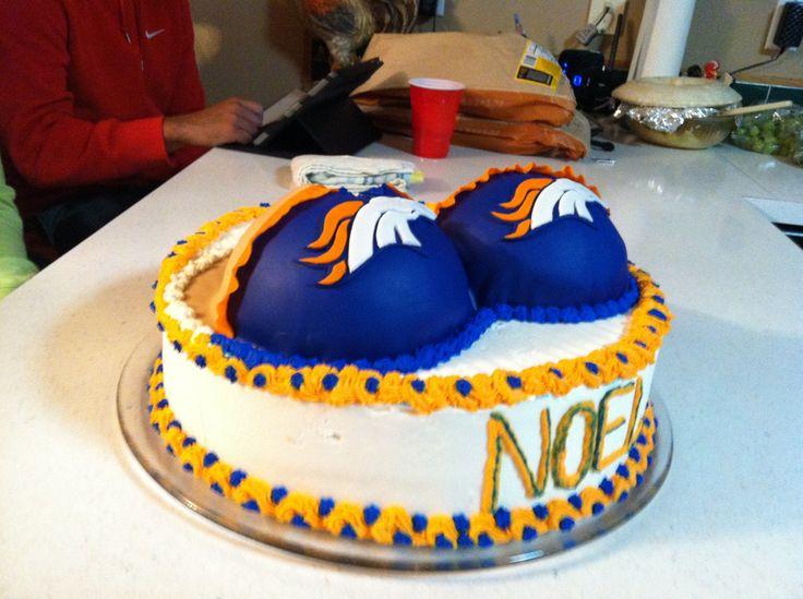 Denver Bronco cake  Birthday ideas  Pinterest  Denver  ~ 183647_Birthday Party Ideas Denver