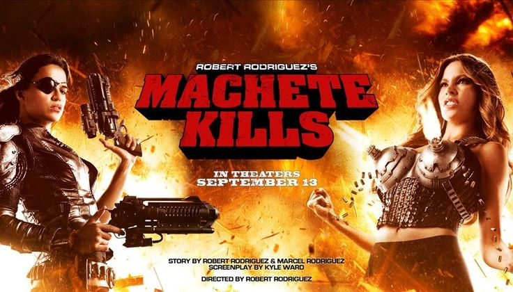 MACHETE KILLS; Michelle Rodriguez & Sofie Vergara