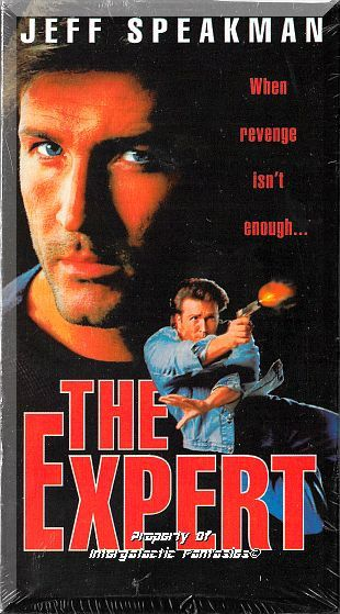 VHS - The Expert (1994) *Jeff Speakman / Elizabeth Gracen / James Brolin* by FantasticFinds2015 on Etsy