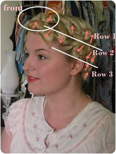 pin curl (how to)