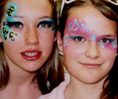 art face painting pretty makeup fantasy - maquillaje fantasia pintacaritas ♛