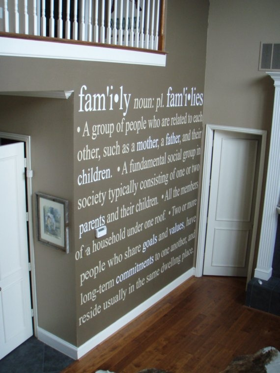Family definition wall vinyl lettering decal decor pinterest master bedrooms bedrooms and The master bedroom definition