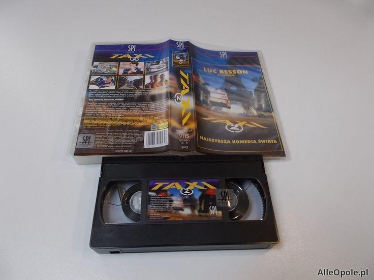 TAXI 2 - VHS Kaseta Video - Opole 1687 (Opole)