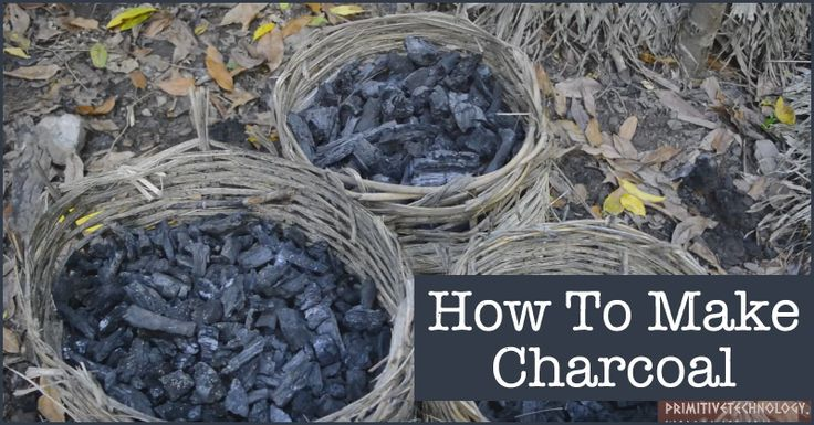 Knowing how to make charcoal is a useful skill, and one that is easy to learn and practice. This video by Primitive Technology shows how to make charcoal using the mound method.