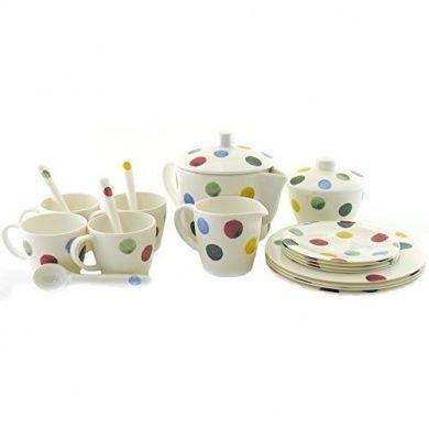 Emma Bridgewater Polka Dot Melamine Children's Tea Set