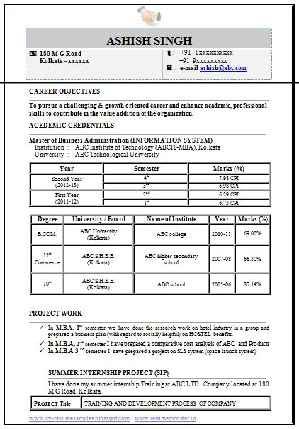 MBA+Information+Technology+Resume+Format+(Page+1).png (422×605)