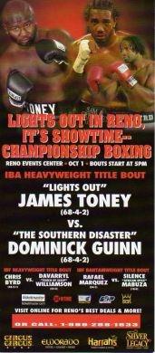 VS. Dominick Guinn #lightsoutboxing