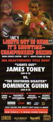 VS. Dominick Guinn #lightsoutboxing