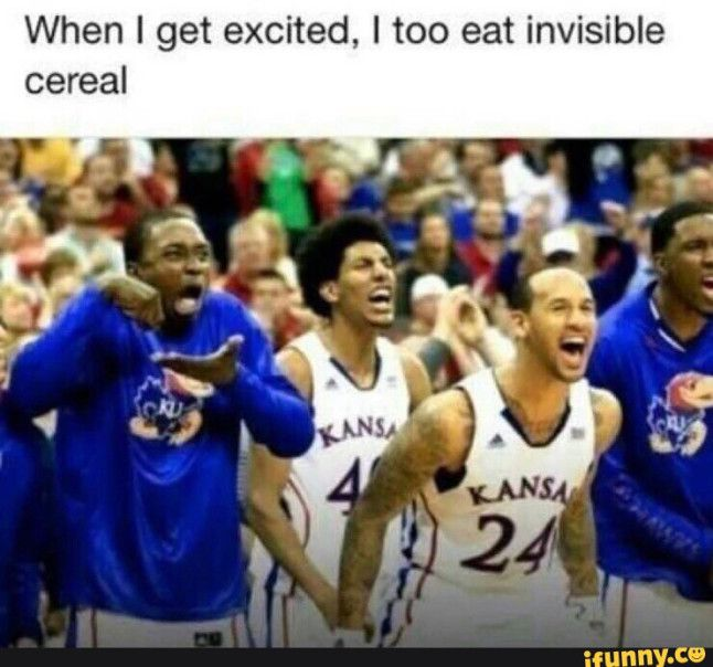 slob, humor, invisible cereal??