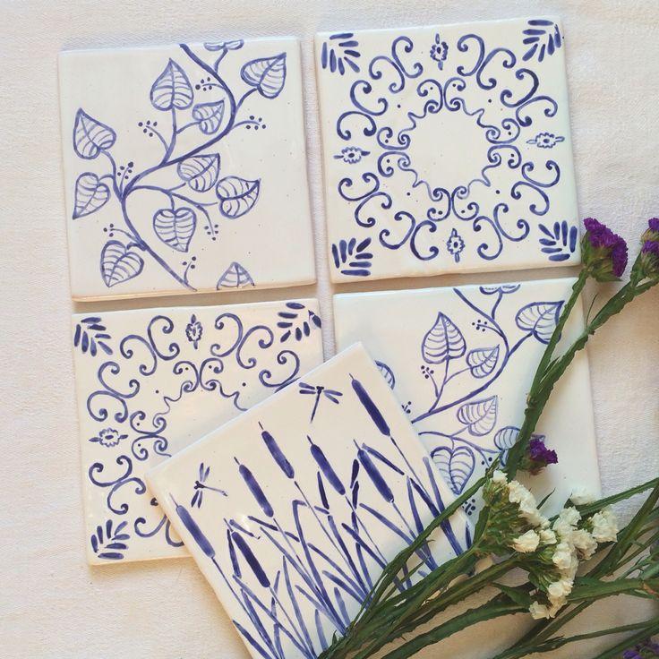 Плитка ручной работы. Handmade tiles. Ceramics