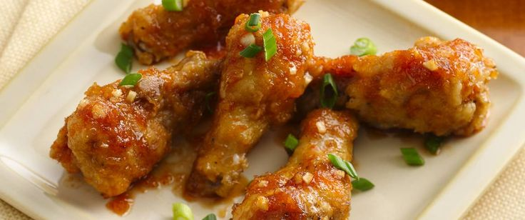 Add something spicy to your family's Asian cuisine night!  Serve chicken wings made using Gold Medal® flour - perfect for appetizers.