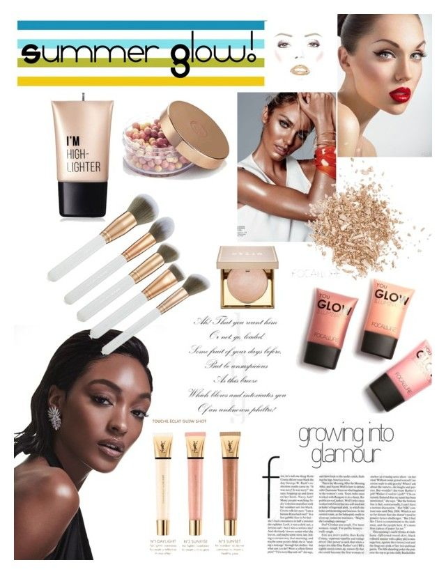 """Golden Goddes : Summer Glow"" by kanitamyr on Polyvore featuring beauty, Dunn, Spectrum, Charlotte Russe, Topshop, Stila, Yves Saint Laurent, summerstyle, sunnies and fashionset"