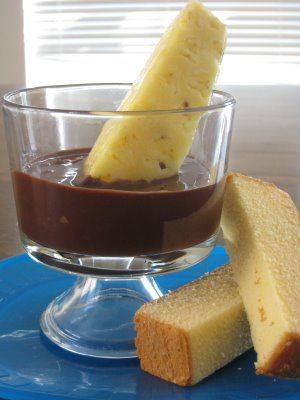 Chocolate Fondue in the Slow Cooker - 75 Days of Summer Slow Cooker Recipes - Eat at Home