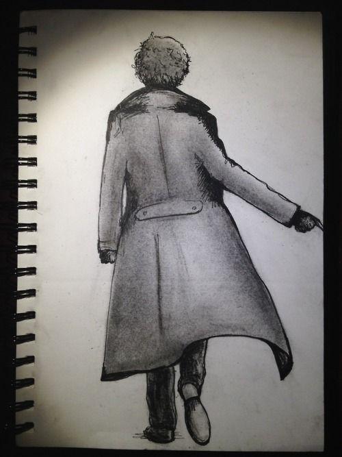 Sherlock's Coat- lovely sketch