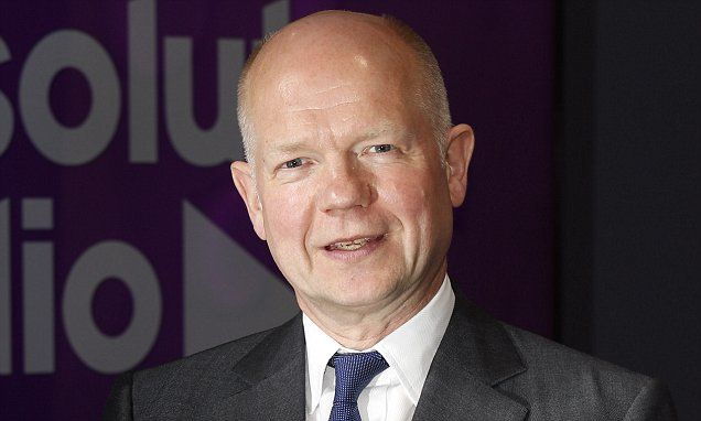 ICYMI: Hague says cutting aid over Oxfam would be a blunder
