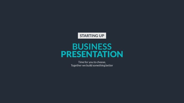 Business Presentation - PowerPoint Template | GraphicRiver