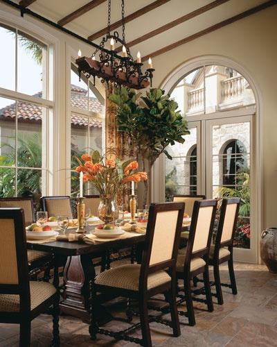 Dining Room Interior Design Jeff Strasser And S Marc