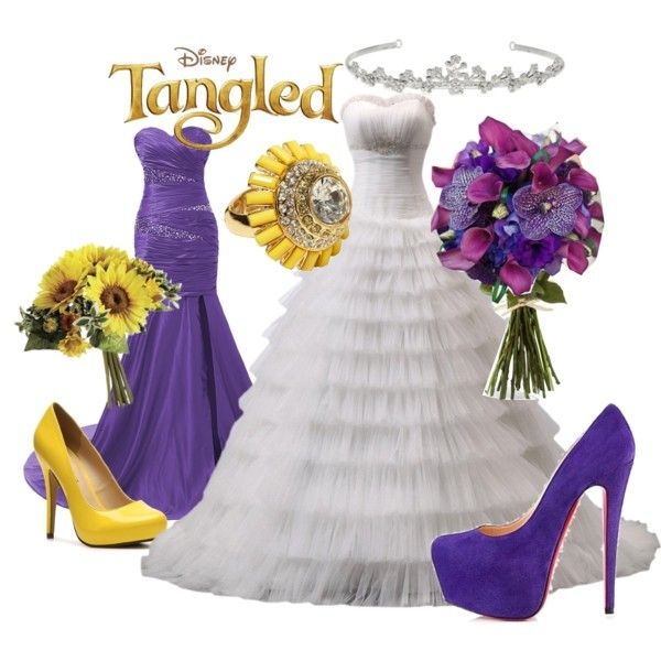 """""""Tangled Wedding"""" by alittletoulouse on Polyvore"""