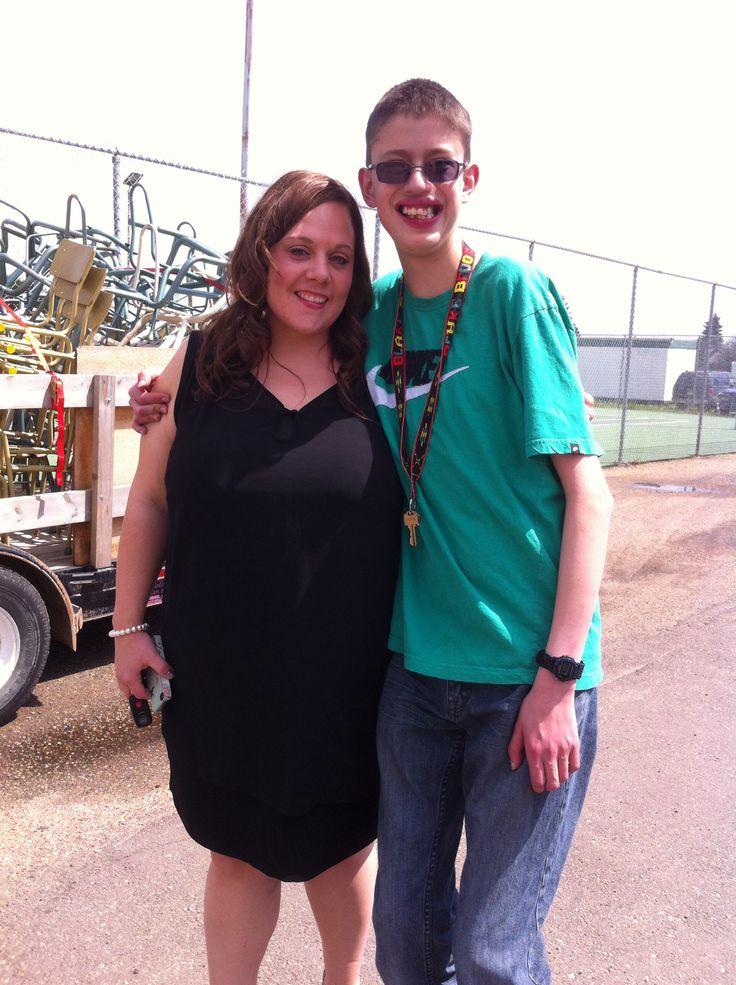 Me and my teacher Mrs. Newbury