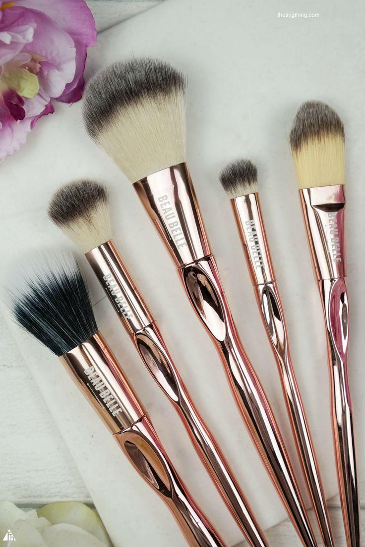 Beau Belle Brushes Complete Rose Gold Brush Set #affiliatelizav
