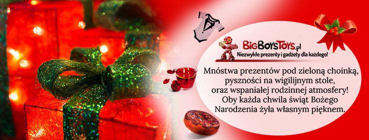 Święta tuż, tuż z tej okazji przesyłamy Wam najlepsze życzenia! :)