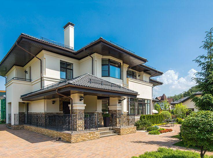 Реконструкция загородного дома | Архитектурные проекты | Журнал «Красивые дома»