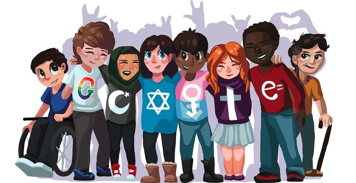 "It's been a long week, and no doubt a downer for some of us. So if you need a dose of cheer, check out the latest Google Doodle. This adorable pic, showing a group of friends of different races, religions, and body types, is titled ""A Peaceful Future."" It's the work of Sarah Harrison, a …"