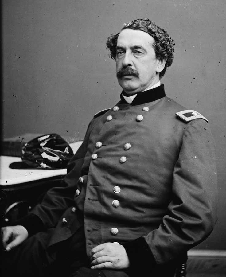Civil War General Abner Doubleday, born in 1819 .... buried at Arlington Cemetery (West Point - Class of '42)