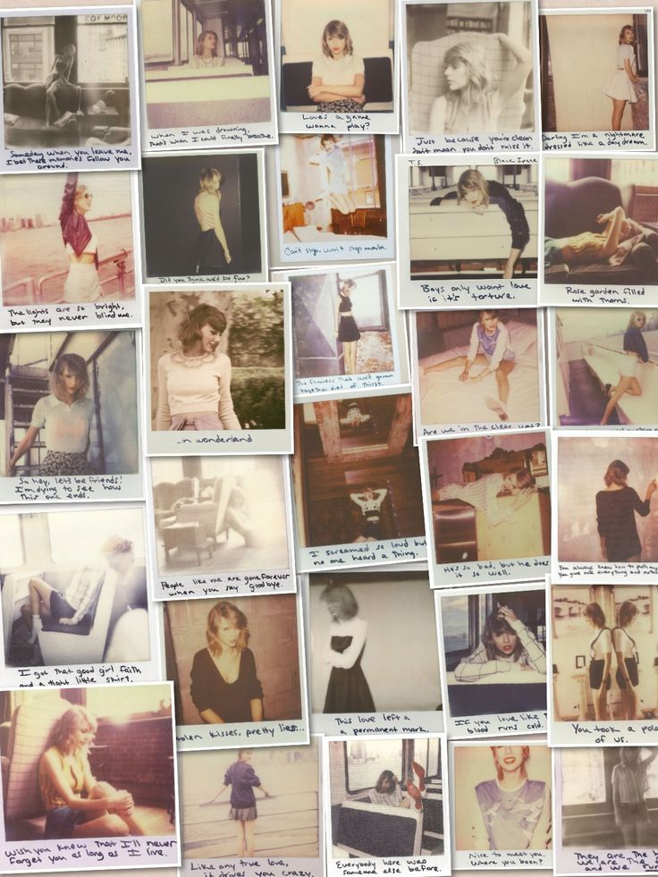 Taylor Swift Polaroid pictures 1989 (credit: @carolineimamura PLEASE LIKE TO VOTE! Love y'all! Tag people below to vote!:) thanks