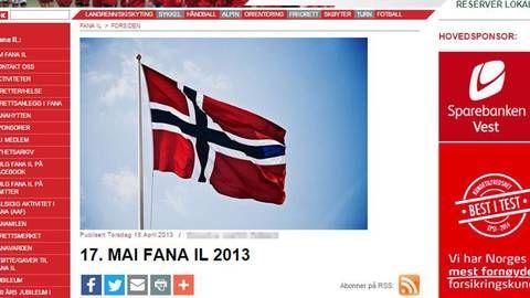 Fotograf krever inn titusener for flaggbilde - Bergens Tidende