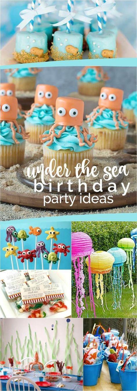 23 Enchanting Under the Sea Party Ideas