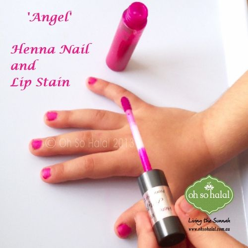 Henna Lip & Nail Stain in 'Angel'