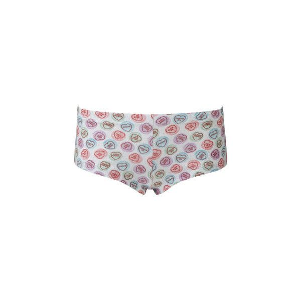 Hate Hearts Pants, Drop Dead Clothing (150 ARS) ❤ liked on Polyvore featuring intimates, drop dead, bottoms, lingerie and underwear