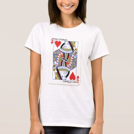Queen of Hearts T-Shirt - tap to personalize and get yours