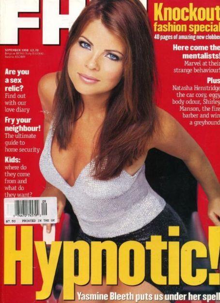 Yasmine Bleeth - FHM Magazine [United States] (September 1998)