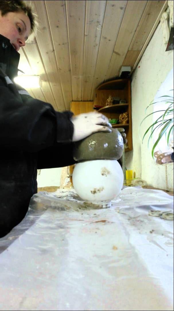 Sådan laver jeg mine svampe i beton.