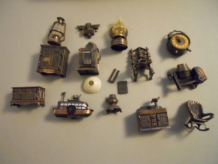 Vintage 70's Durham Hong Kong Metal Dollhouse Miniature Doll Furniture lot | eBay
