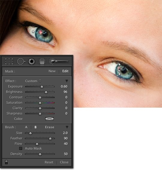 Eye pop in Lightroom #lightroom