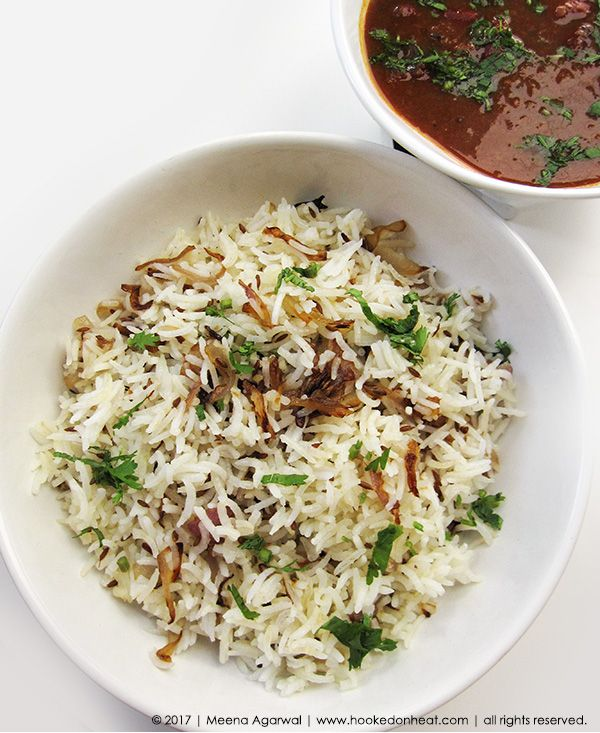 In honour of Hubby Dear's upcoming birthday, I'm sharing a recipe of one of his restaurant favourites. It's quick, easy, delicious and perfect for a busy weeknight. Jeera Rice, recipe here: https://www.hookedonheat.com/2017/09/20/jeera-rice/  For more simple, healthy and mouth-watering recipes the whole family will love, head on over to www.hookedonheat.com