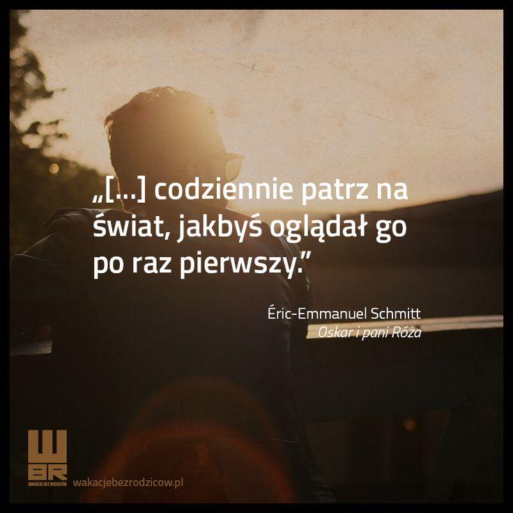 Pamiętaj o tym i żyj na 100%! :-) #wakacjebezrodzicow #cytat