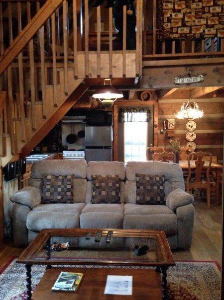 600 Sq. Ft. 'Bearadise' Tiny Cabin, North Carolina (pinned by haw-creek.com)