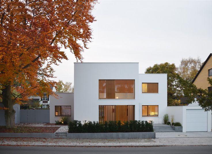 Drei Körper, ein Haus HAUS BIE, Hannover Fassade haus